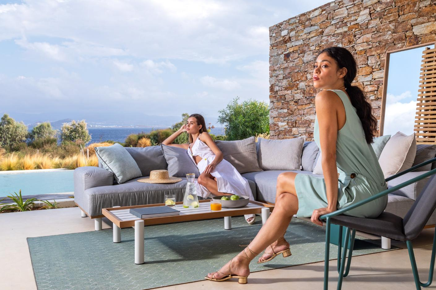 outdoor furniture trends: formal is out, comfort is in